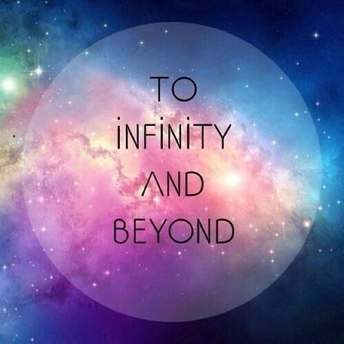 To Infinity And Beyond Quotes Qoutes Galaxy Wallpaper Quotes