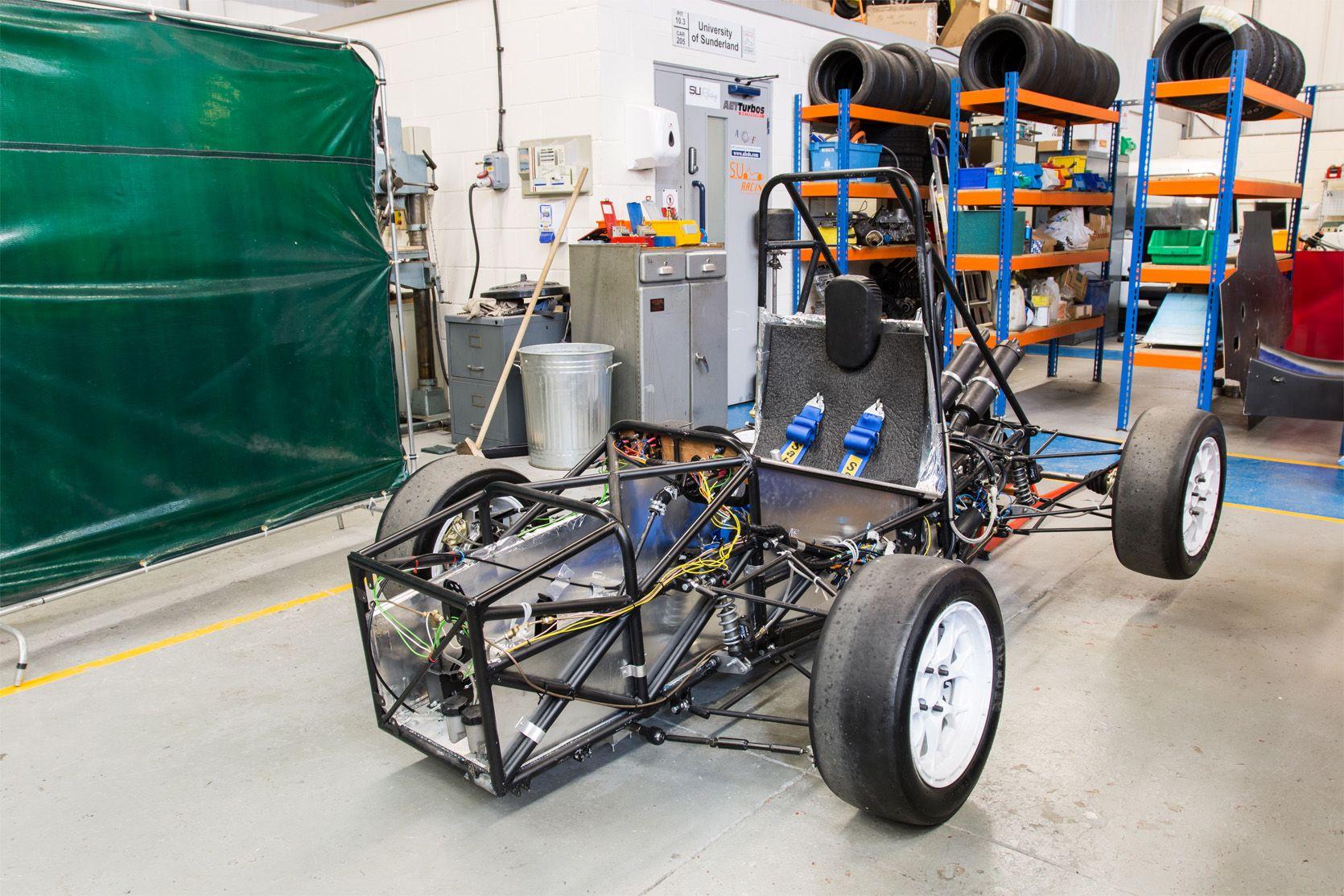 Formula student car chassis