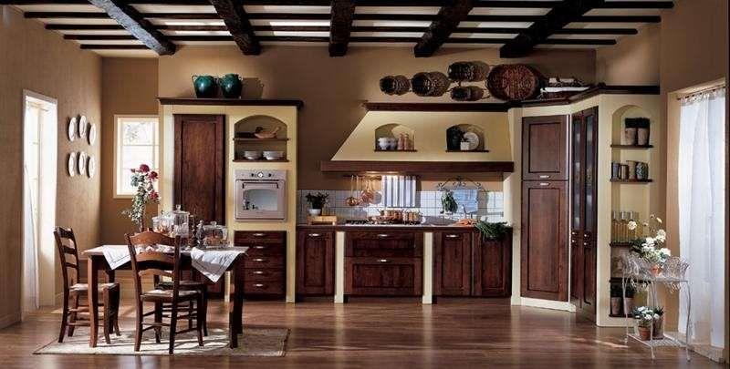 Cucine in finta muratura | Cucine nel 2019 | Cucine, Cucina ...