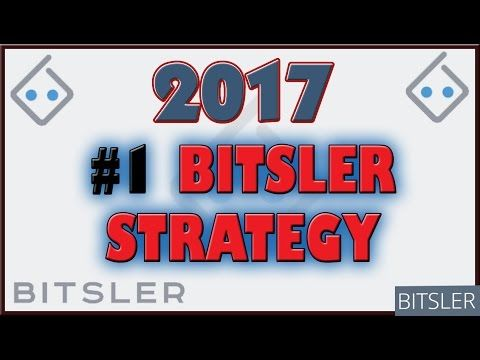 Bitsler Strategy 2017 | BEST Auto Dice Bet Strategy | How to win
