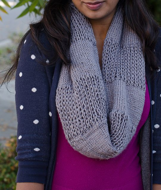 Through Thick and Thin Cowl pattern by Megana Reddy | Bufandas de ...