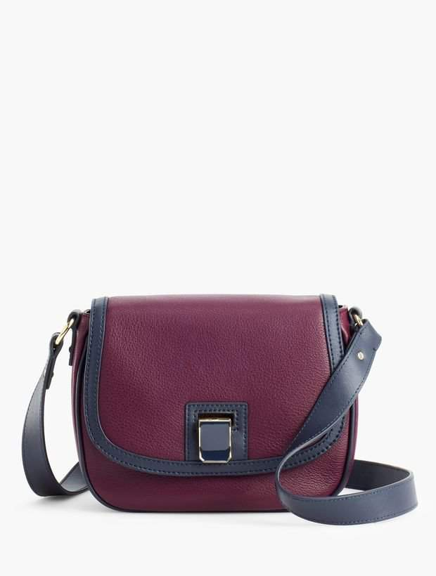d73160a8ed Talbots Pebbled-Leather Crossbody Bag in 2019 | Products | Leather ...