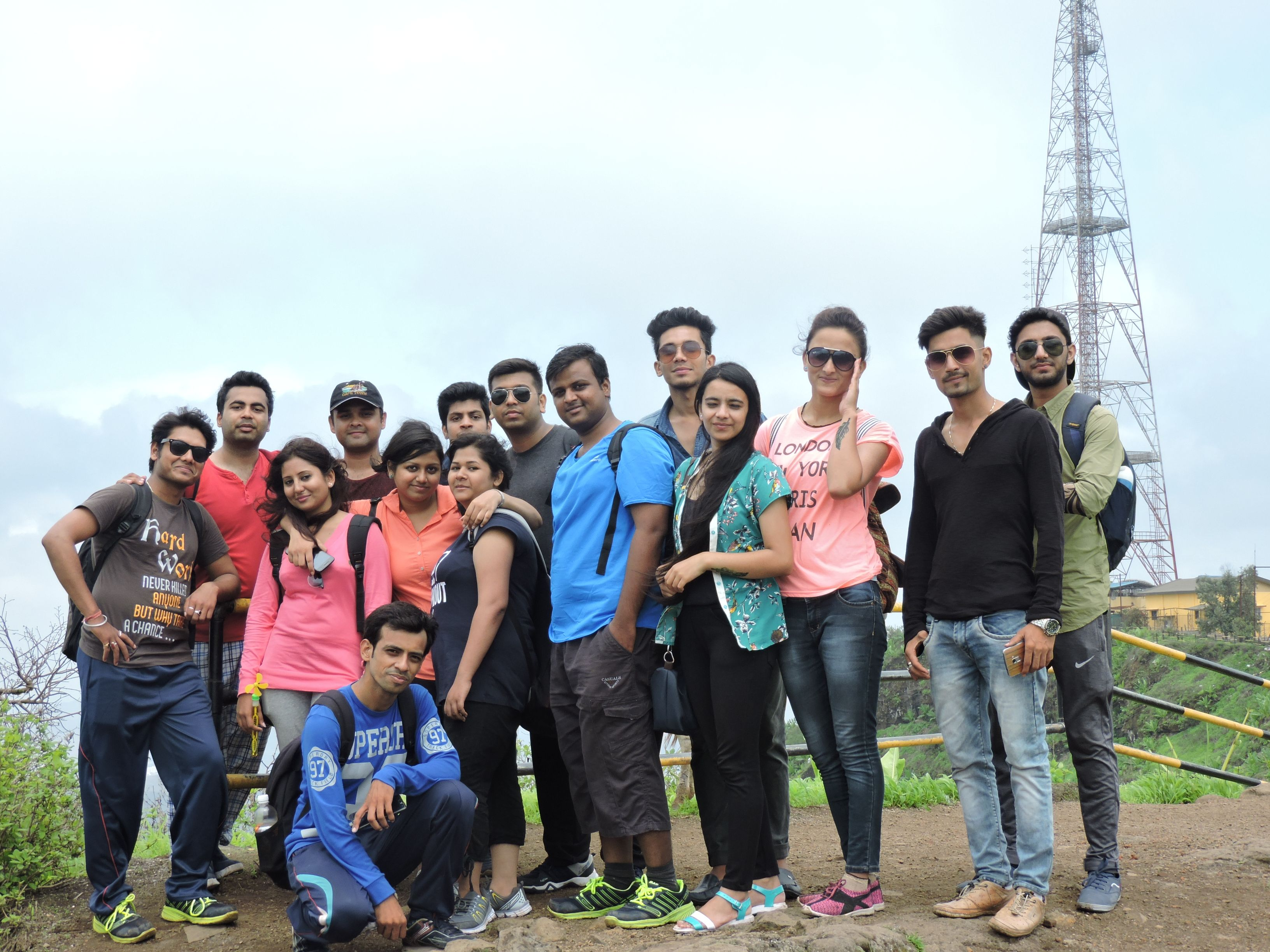 To explore Pune and to see the beauty of Sinhgad fort PIBM