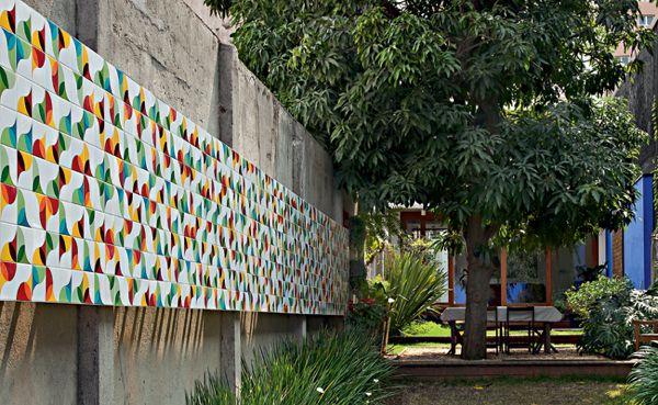 Murales de azulejos / Alexandre Mancini