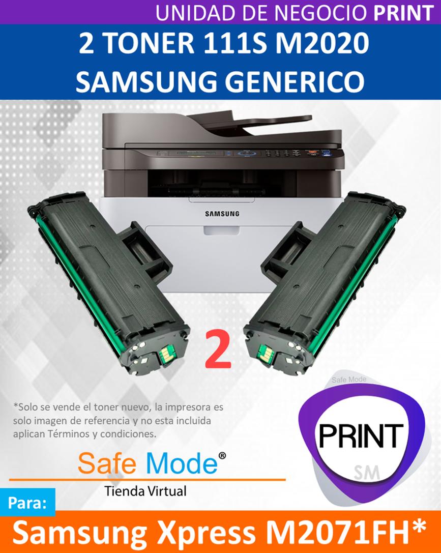 2 Toner para Samsung Xpress M2071FH  [Nuevo]