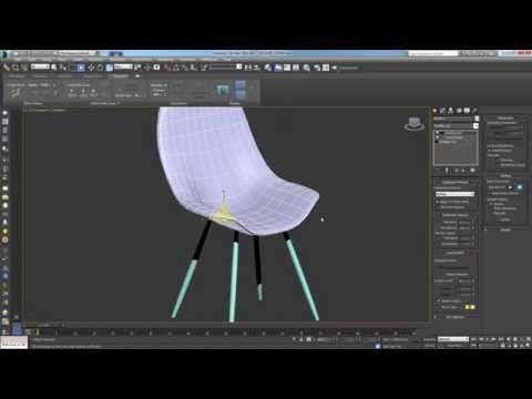 EAMES CHAIR Modeling Tutorial for Beginner Autodesk 3D MAX