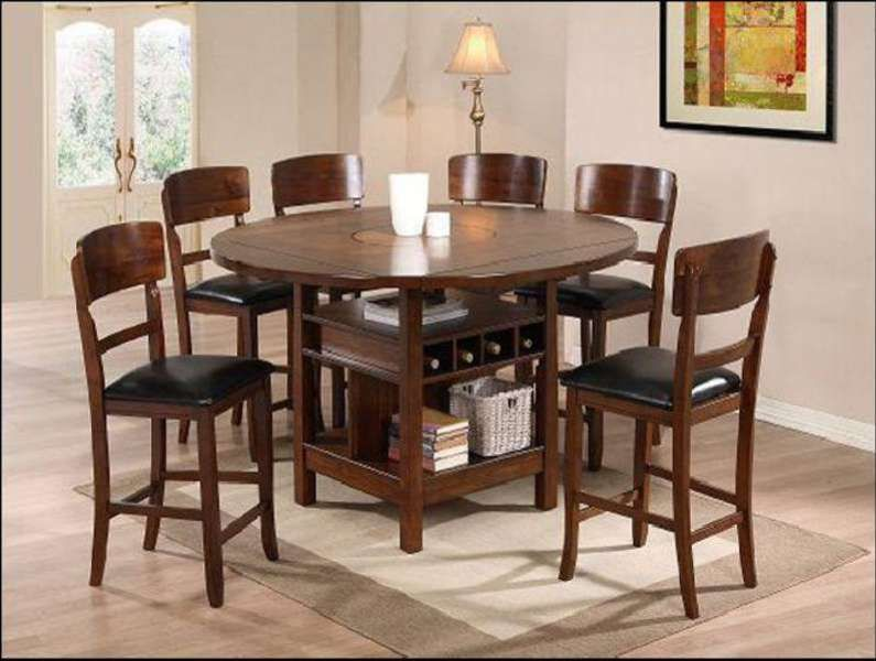 Tall Round Dining Room Tables