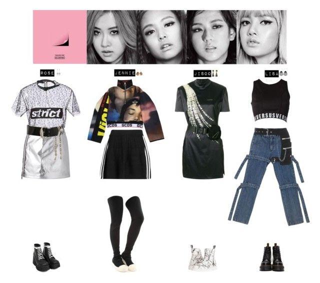 Blackpink Outfit Ideas: BLACKPINK - BOOMBAYHA💛💜💚💙 ️💖
