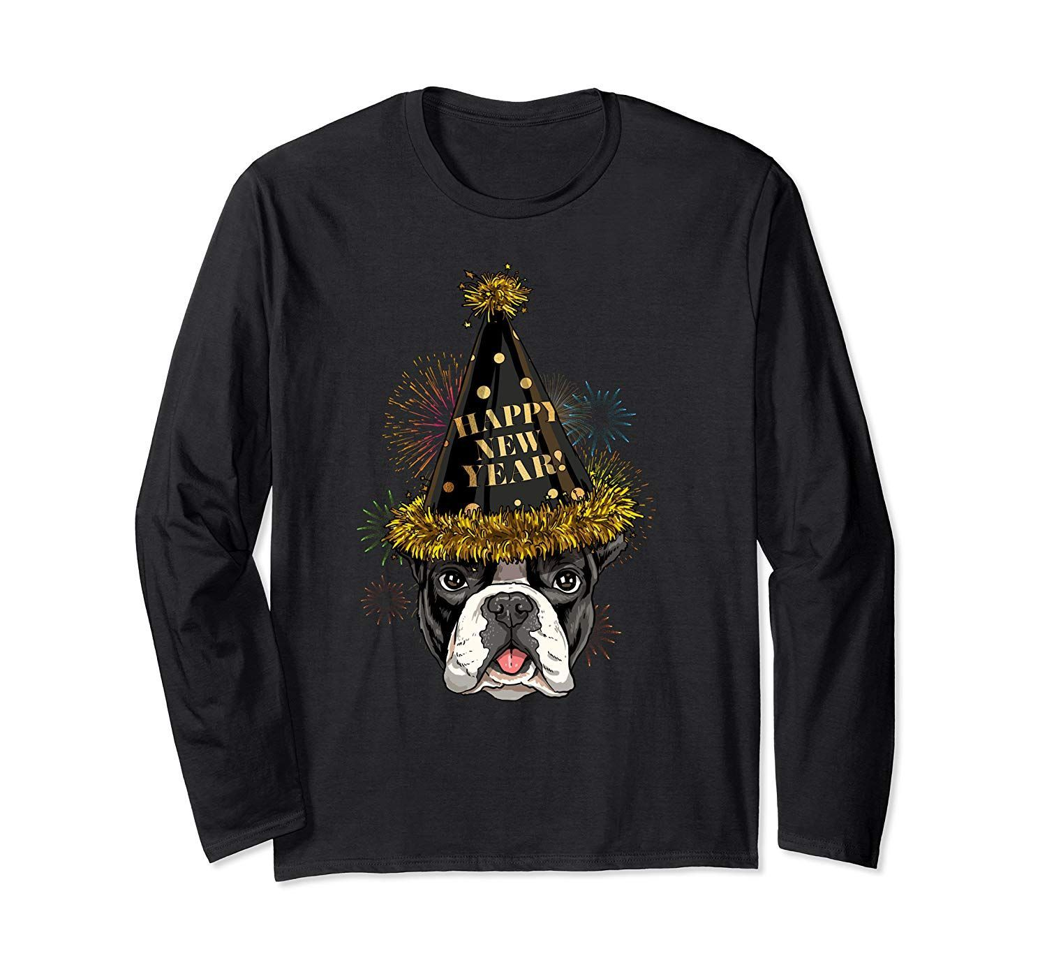 French Bulldog Happy New Year 2020 Dog New Years Eve Party