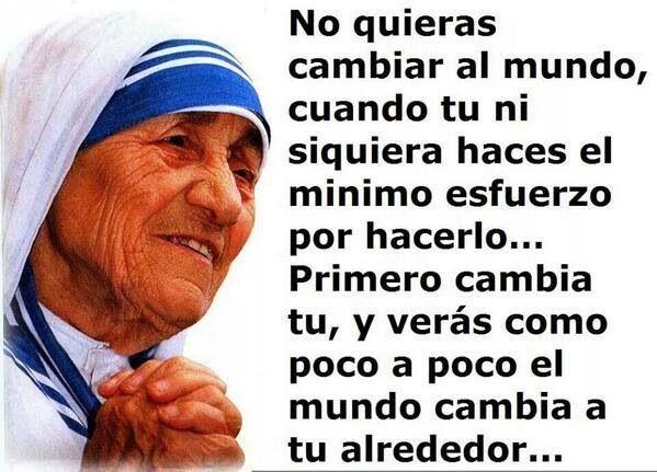 Madre Teresa Frases De La Madre Teresa Teresa De Calcuta