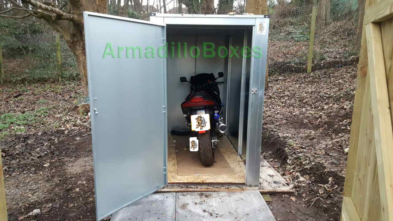 Motorcycles Storage Shed Large Motorcycle Security Motorbike Storage  Scooter Shed