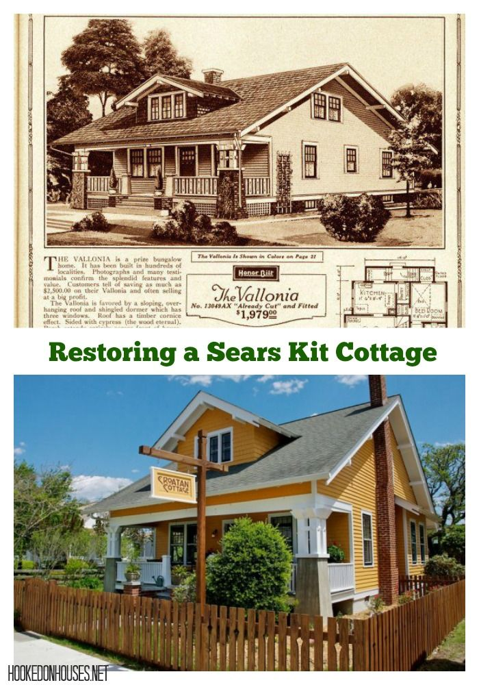 Croatan Cottage Restoring A Classic Sears Catalog Kit
