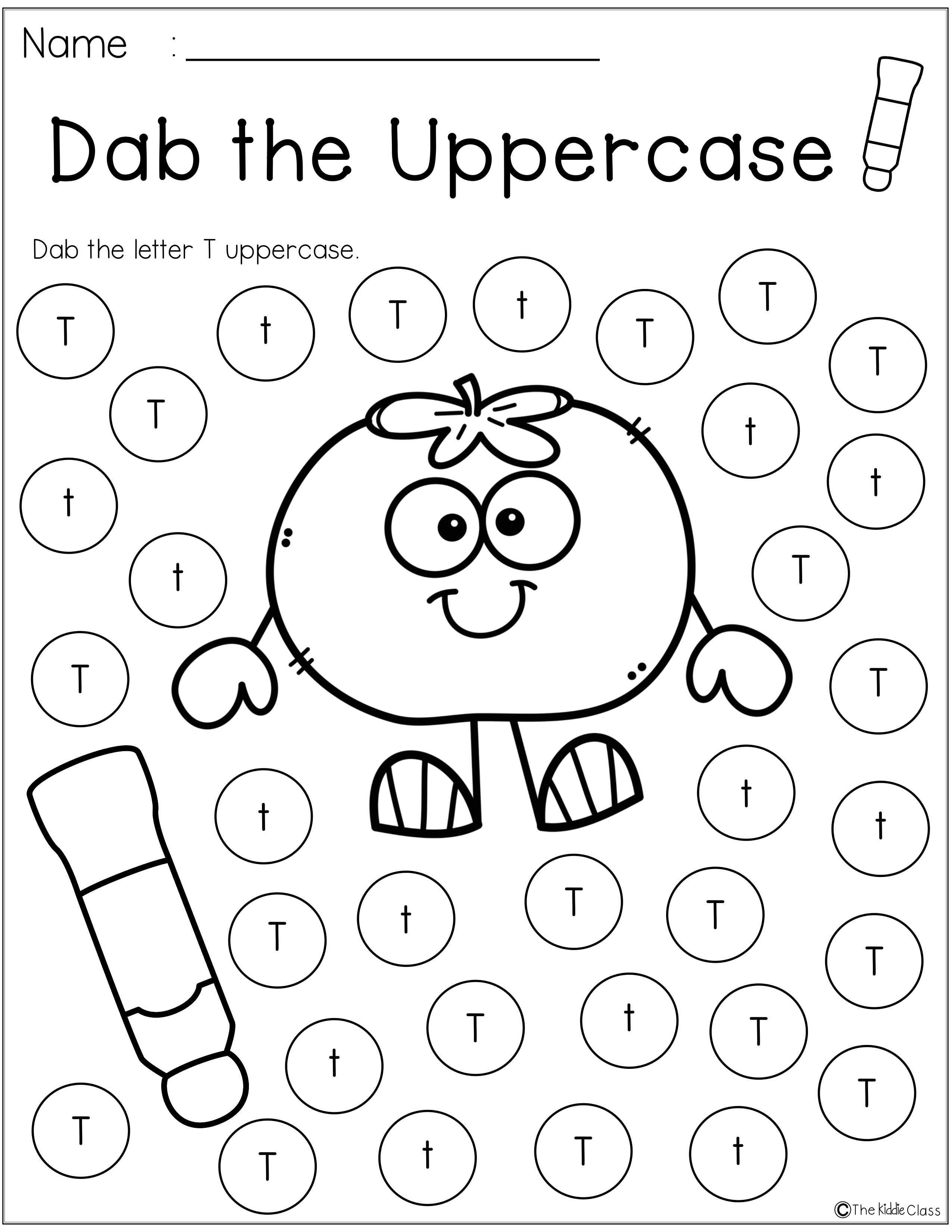 Letter Of The Week T Kindergarten Readiness Alphabet Preschool Kindergarten [ 3300 x 2551 Pixel ]