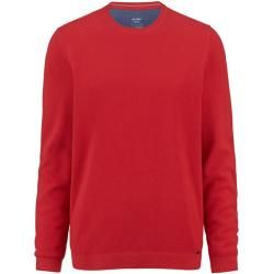 Photo of Olymp Strickpullover, moderne Passform, rot, Xl Olymp
