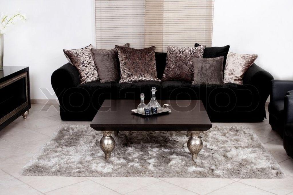 moderne wohnzimmer couch moderne schwarze stoff couch wohnzimmer ...