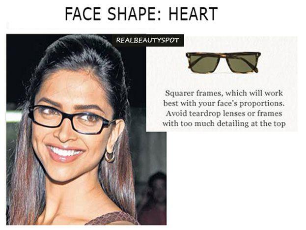 Realbeautyspot Com Heart Face Shape Face Shapes Glasses For Your Face Shape