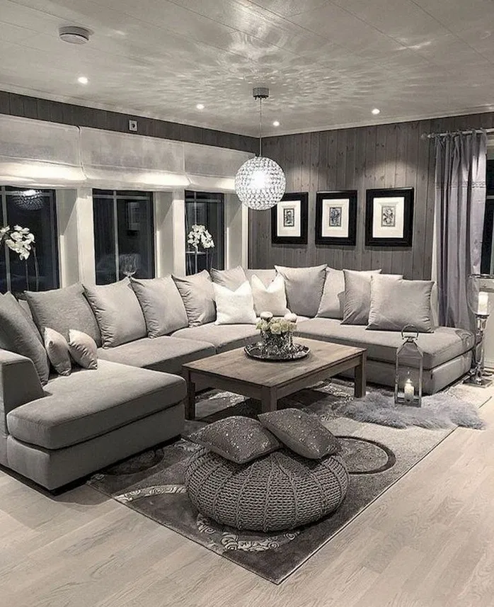 122 Gorgeous Grey Living Room Ideas Page 26 In 2020 Elegant Living Room Decor Living Room Decor Modern Living Room Decor Apartment