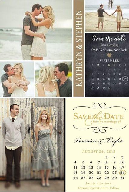 Save The Date Magnets ♥ #weddings #birthdays #sweet16