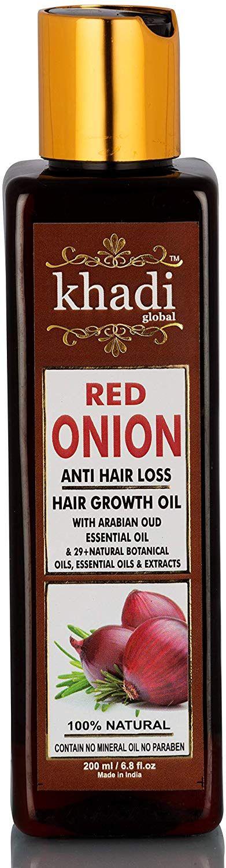onion oil for hair growth