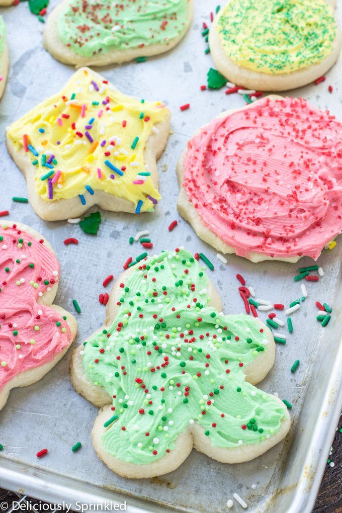 Christmas Cookie Frosting.The Best Sugar Cookie Frosting