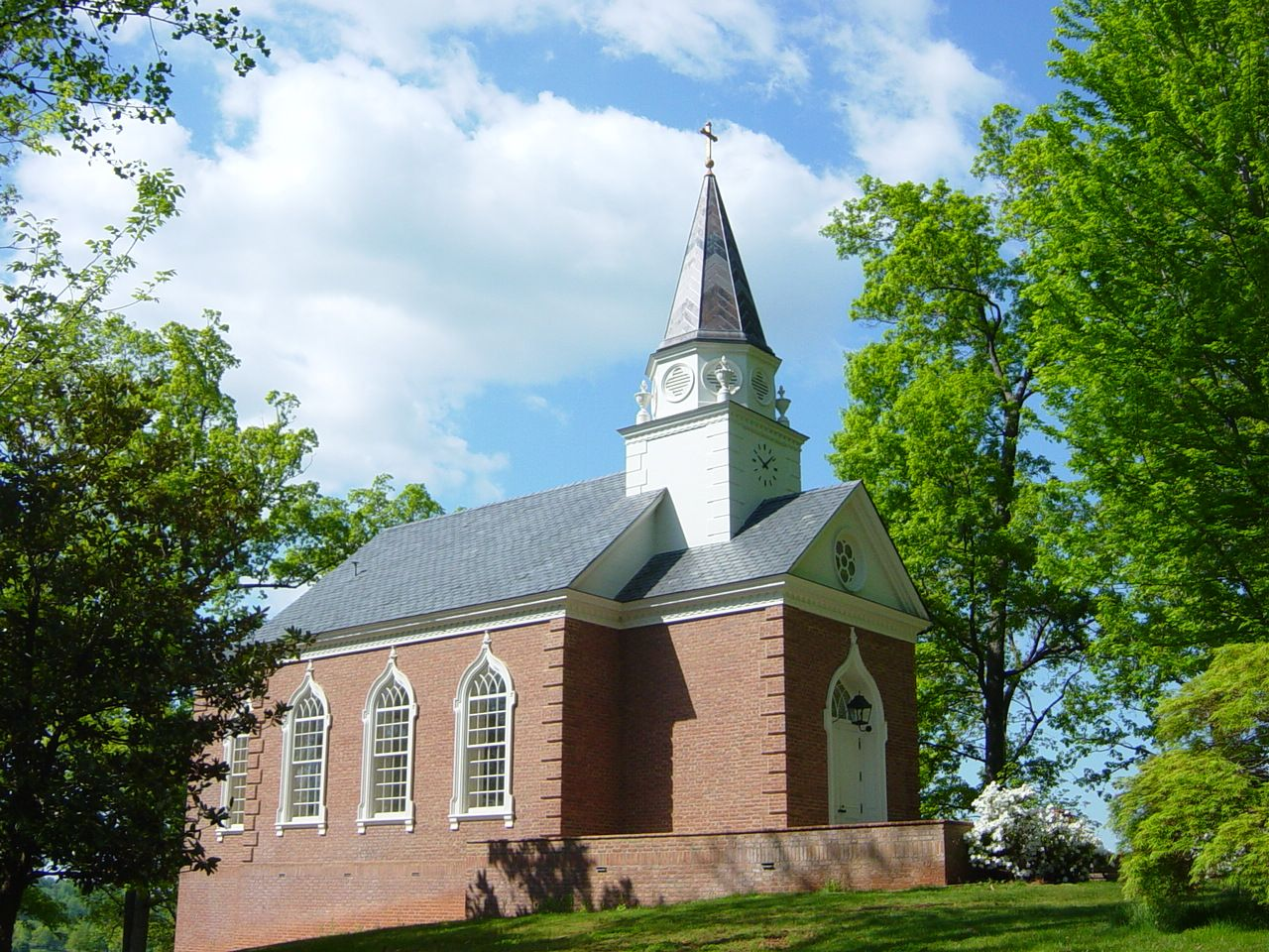 Springtime at the Chapel. A perfect venue for an intimate