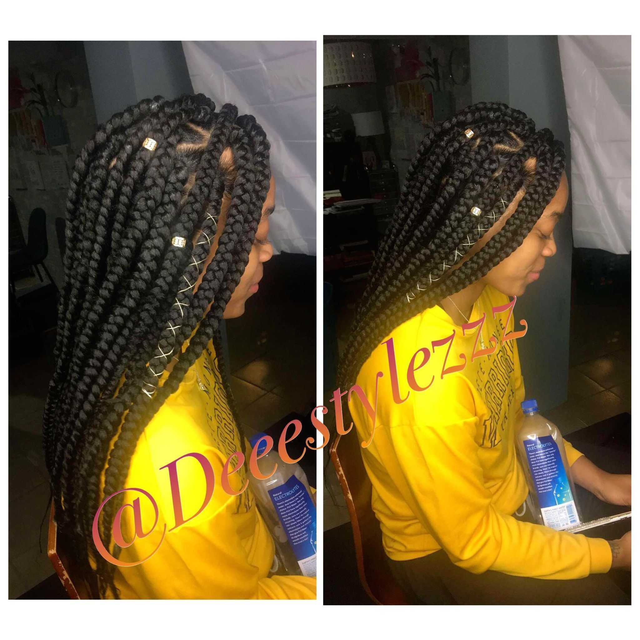 Hairstyle braid box braids medium size click for more hairstyleud