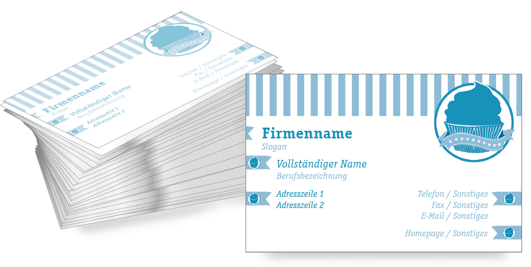 Die visitenkarte vorlage cupcakes knnen sie jederzeit kostenlos die visitenkarte vorlage cupcakes knnen sie jederzeit kostenlos bearbeiten und bestellen cupcakesbusiness card design templates reheart Image collections