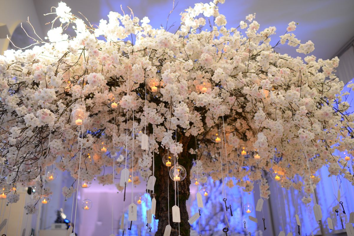 Top 5 Creative Floral Decoration Placements Tree Wedding Centerpieces Blossom Tree Wedding Wishing Tree Wedding