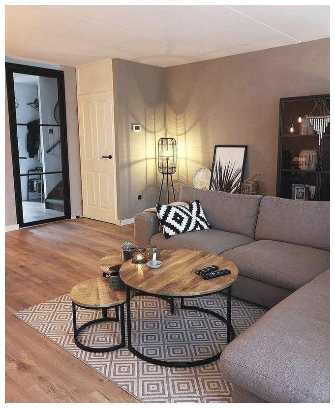 56 kleine Wohnzimmer-Apartment-Designs, um fantastisch auszusehen 26