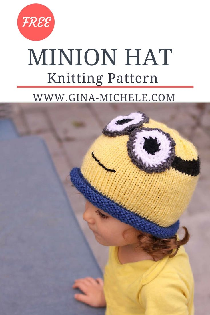 Free knitting pattern for this minion hat blogger knitting free knitting pattern for this minion hat bankloansurffo Image collections