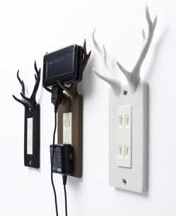 A tidy way to charge your phone.  Love this!