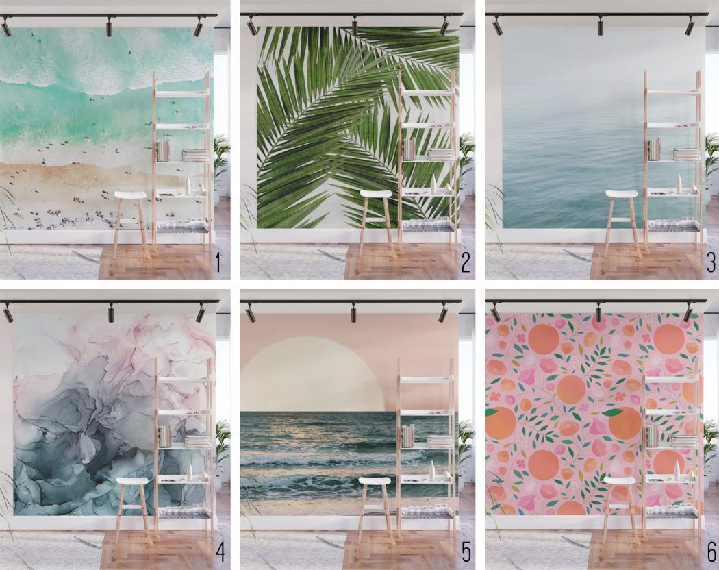 How To Install A Removable Wallpaper Mural Mural Wallpaper Removable Wallpaper Mural Design