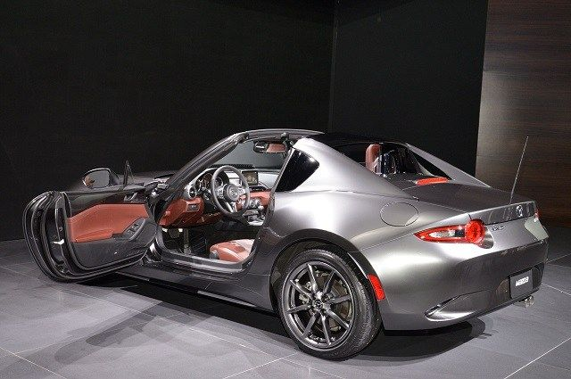 2018 Mazda Mx 5 Rf Limited Edition Rear View Concept Cars Group Pins Pinterest And Train Auto