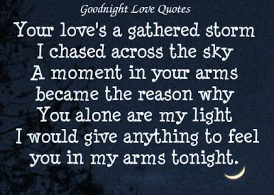 Good Night Quotes To Your Lover