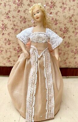 Dolls House Victorian Style Lady / Figure / Doll | eBay