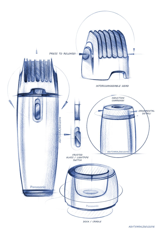 Industrial Design: Product Design / Industrial Design / Sketches / Renders On