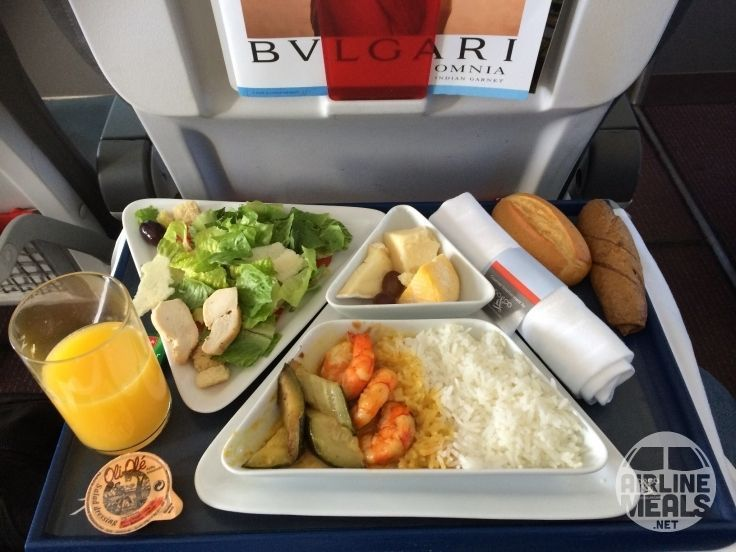 Austrian airlines ag economy class service inflight