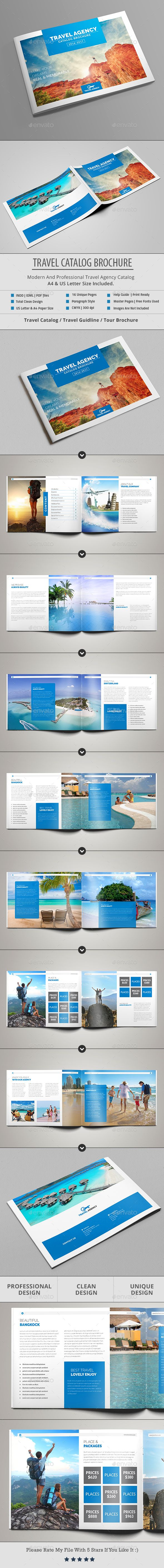 Travel Catalog / Brochure | Agencia viajes, Diseño editorial y Editorial