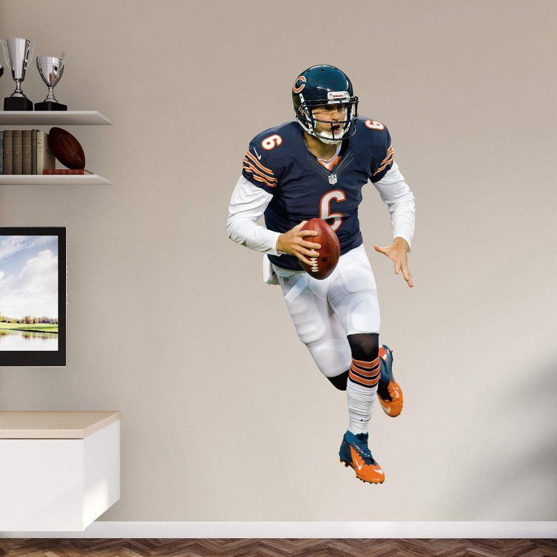 Fathead NFL Chicago Bears Jay Cutler Wall Decal   12 21009 Part 51