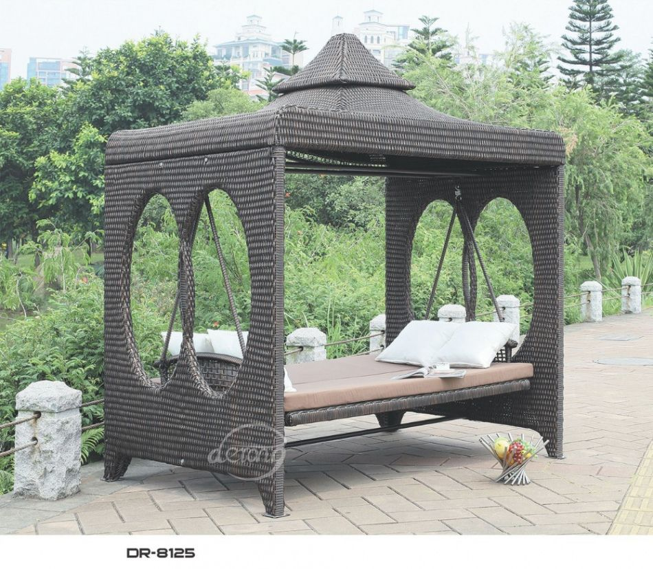 Outdoor Swing Bed With Canopy : patio swing bed with canopy - memphite.com