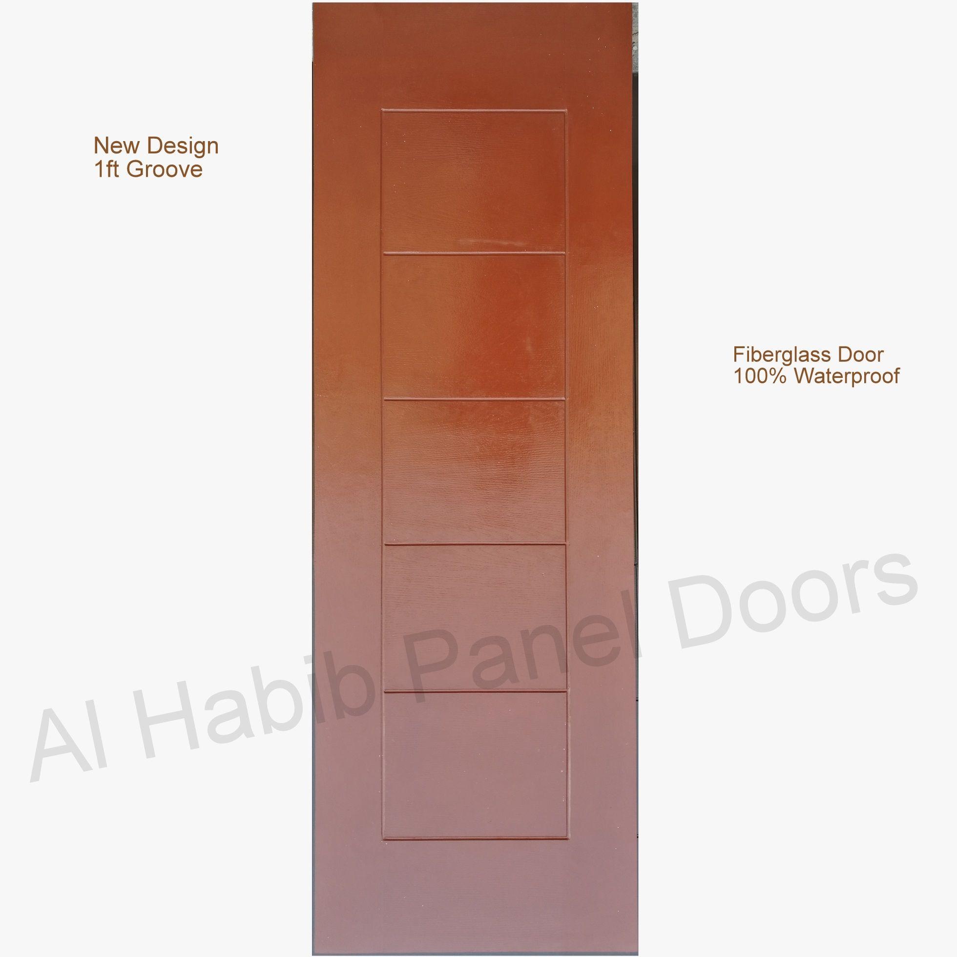 Fiberglass Door 1ft Groove New Design Hpd600