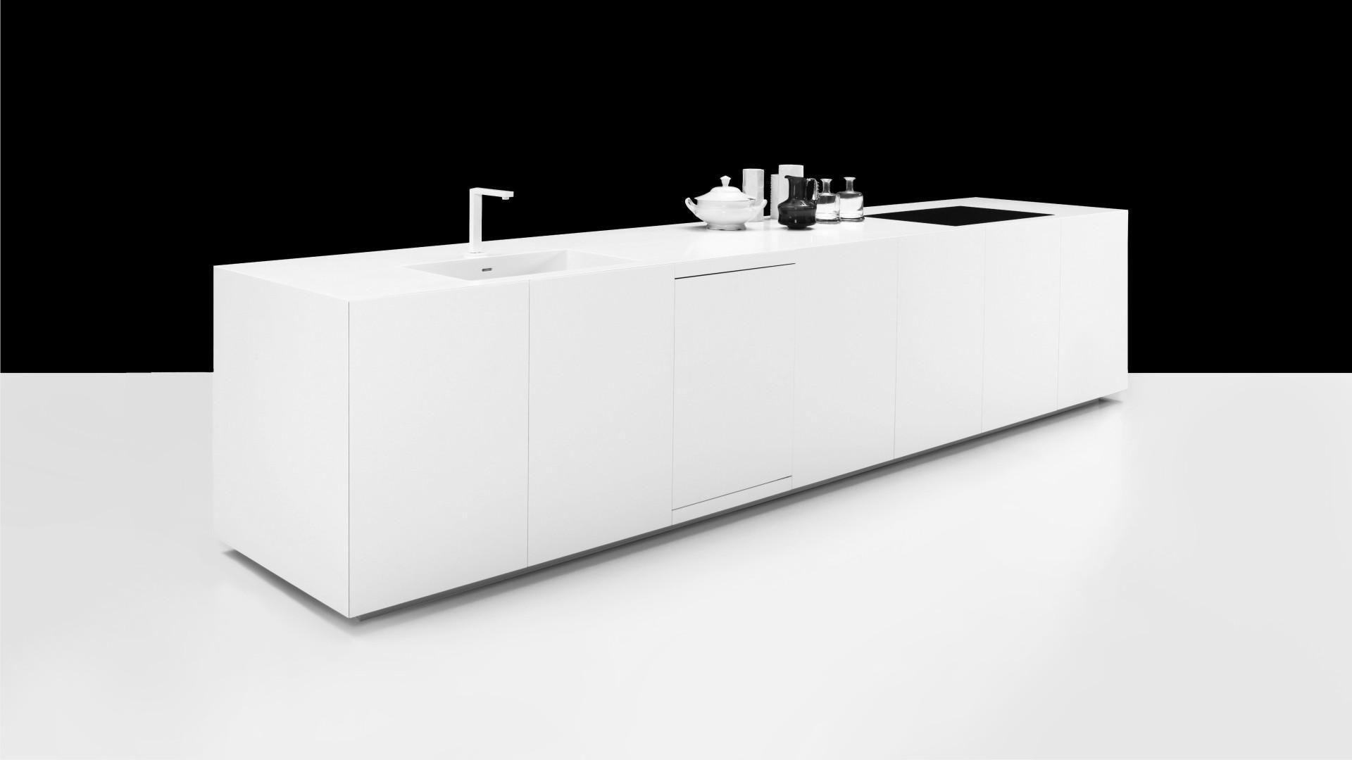 Design Cube Keuken : Designer nuuun cube kitchen island full corian g
