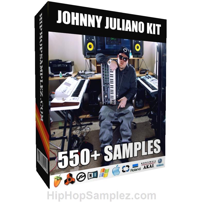JOHNNY JULIANO KIT - Download at http://hiphopsamplez.com  https://sellfy.com/hiphopsamplez