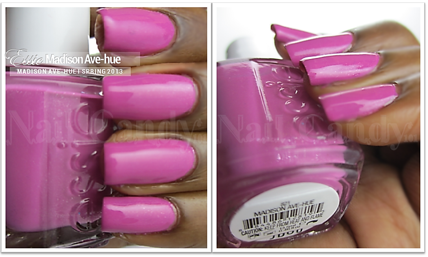 Essie Madison Ave-hue from the Madison Ave-hue Spring 2013 nail ...