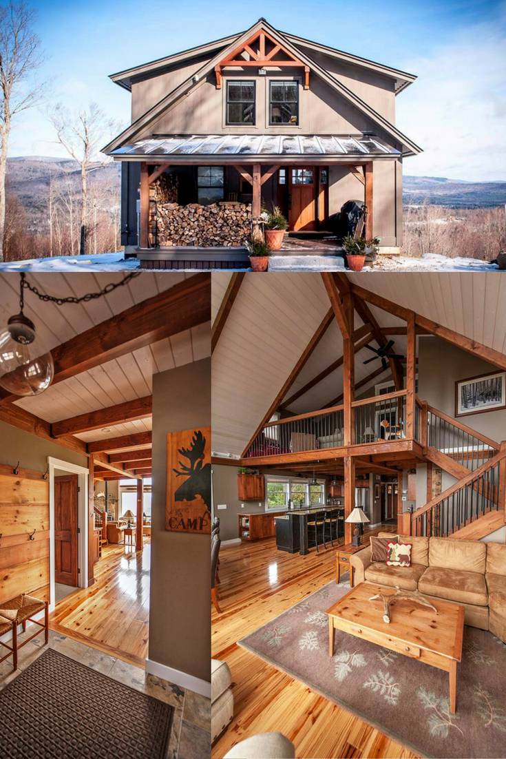 Yankee Barn Homes Moose Ridge Lodge Slide Show Feature