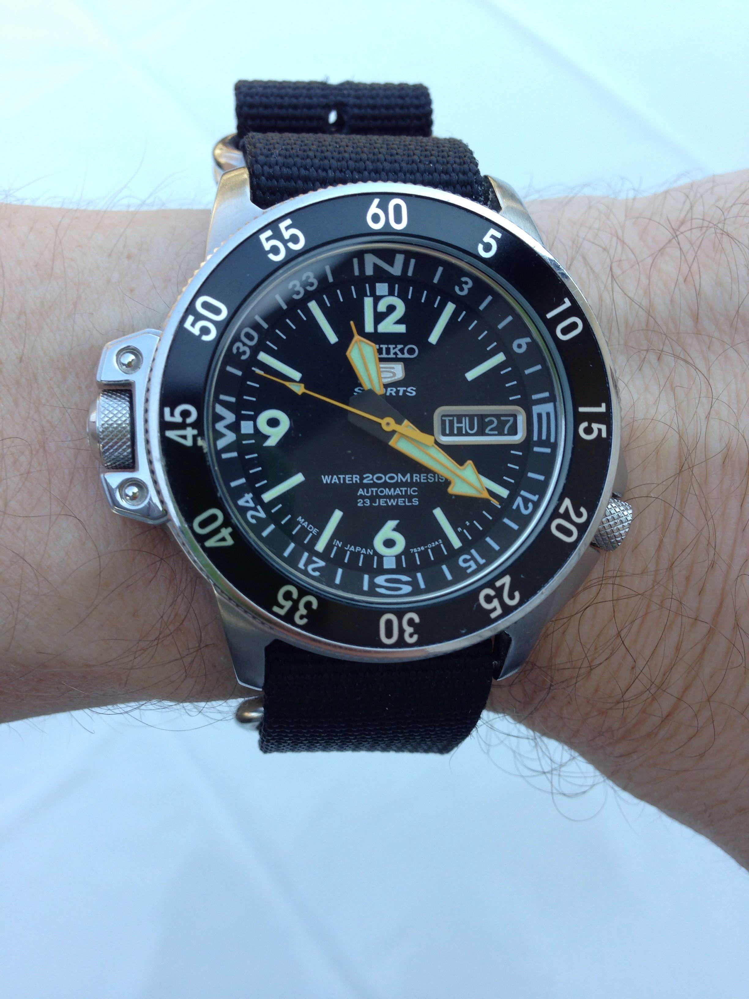 Seiko Atlas (SKZ211K) Watches for men, Amazing watches
