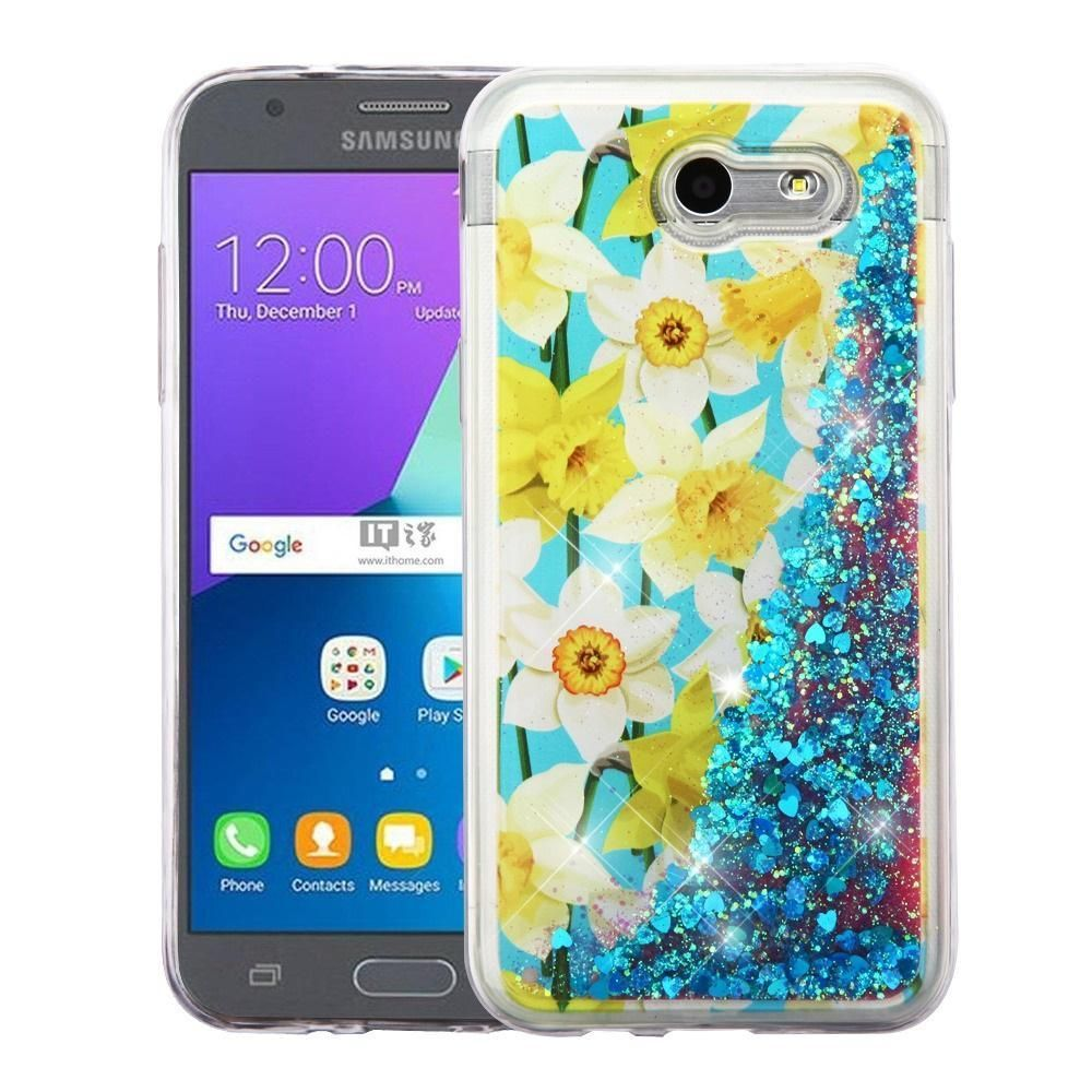 Quicksand Glitter Galaxy J3 Emerge / J3 Eclipse / J3 Prime