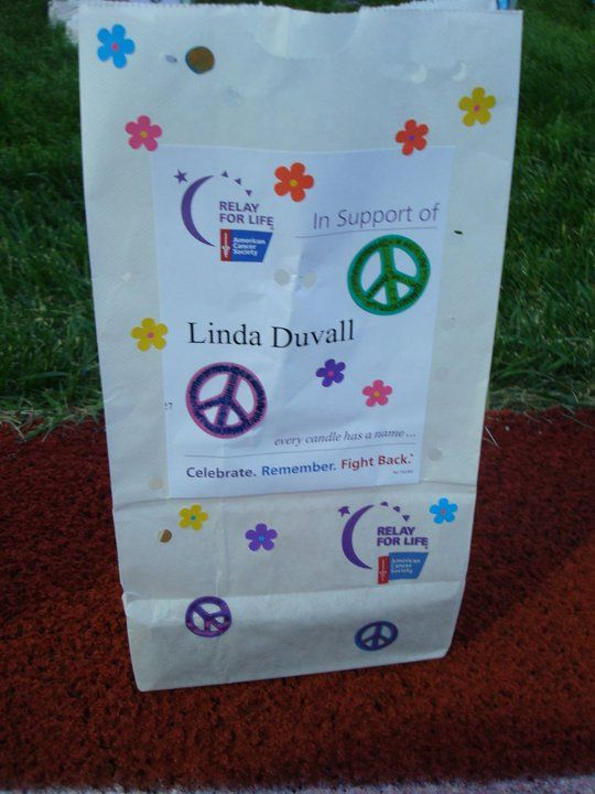 Pin By Jessica Duvall On Relay For Life Stuffs Relay For Life Luminaries Bags Luminary