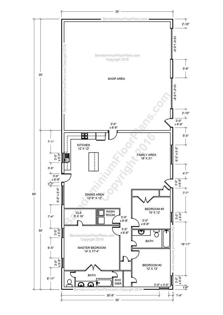 metal pole barn homes plans