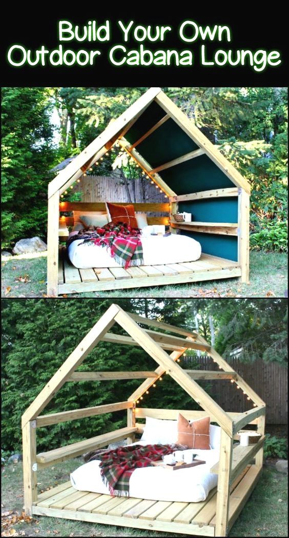 20+ DIY Awesome Garden Furniture – Tutorials – Casuable | Everyday blog
